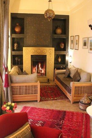 Riad Al Massarah: lounge