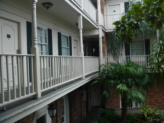 Best Western Plus French Quarter Landmark Hotel: Our room on 2nd floor -facing the courtyard