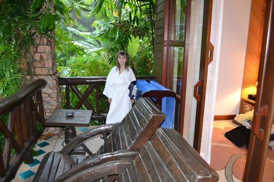 Somkiet Buri Resort: The balcony