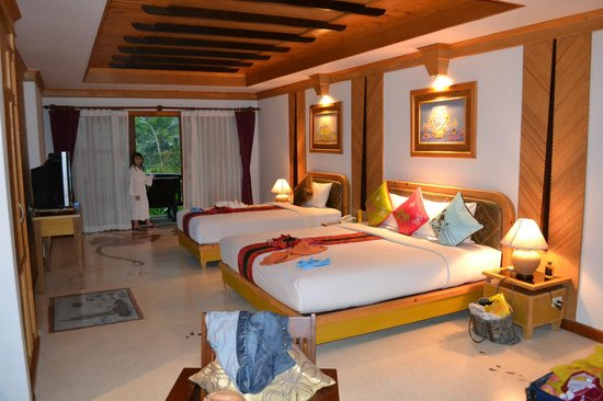 Somkiet Buri Resort: The triple room