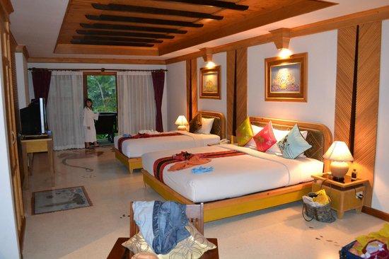 Somkiet Buri Resort: The triple room