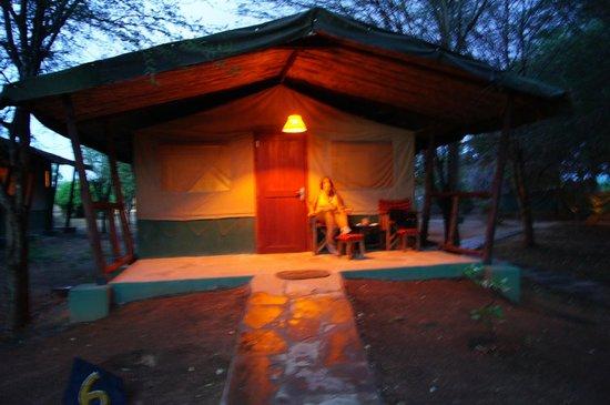 Sentrim Tsavo East: La nostra camera o tenda