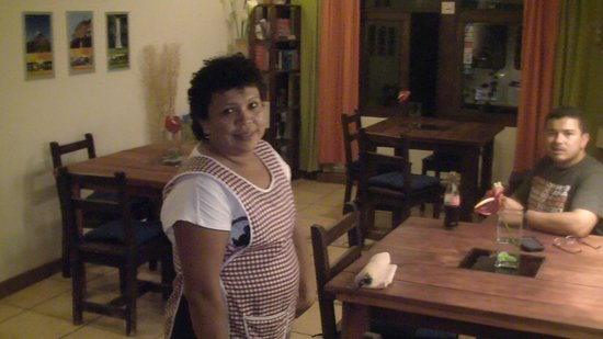 Hotel Casa Alegre / Posada Nena: Theresa, die nette Köchin