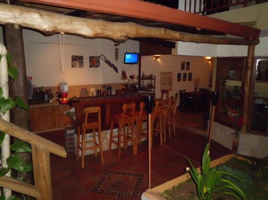 Hotel Casa Alegre / Posada Nena : Restaurant und Bar