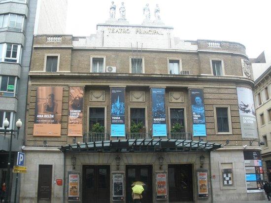 Silken Reino de Aragon Hotel: teatro principal