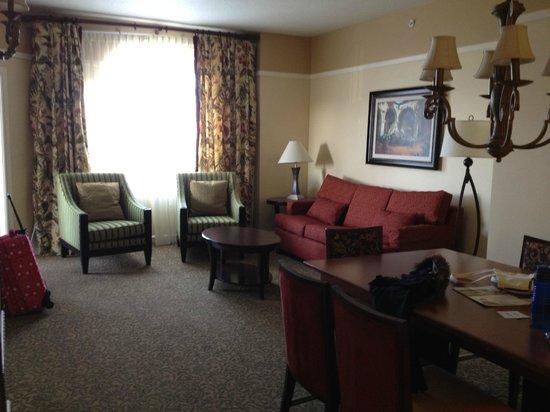 Living Room Dining Room Picture Of Marriott S Grande Vista