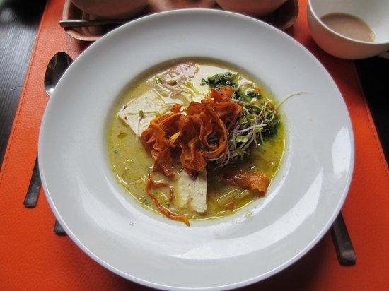 Slurps: Plat: Waterzooi de la mer (tofu aux algues)
