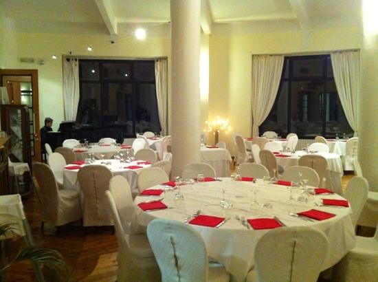 Campo Imperatore: sala ristorante