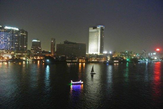 Sofitel Cairo El Gezirah: Vue depuis ma chambre