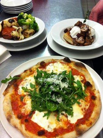 Big City Bread Cafe: Dinner choices