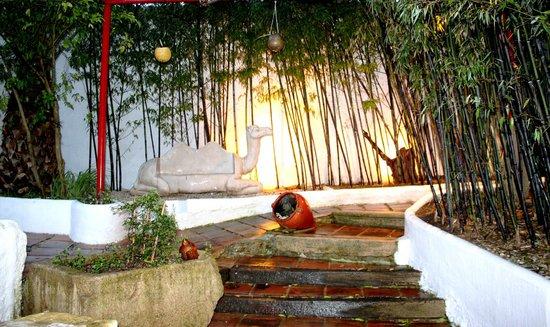 Hotel Enfrente Arte: jardin