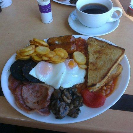 Waterfront Cafe: Big Breakfast