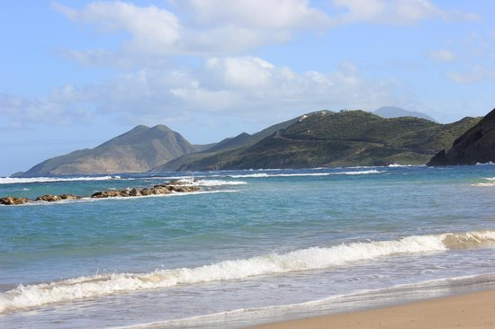 St. Kitts Marriott Resort & The Royal Beach Casino: Beach at the Marriott