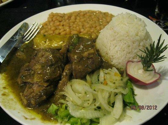 Machu Pichu: My meal