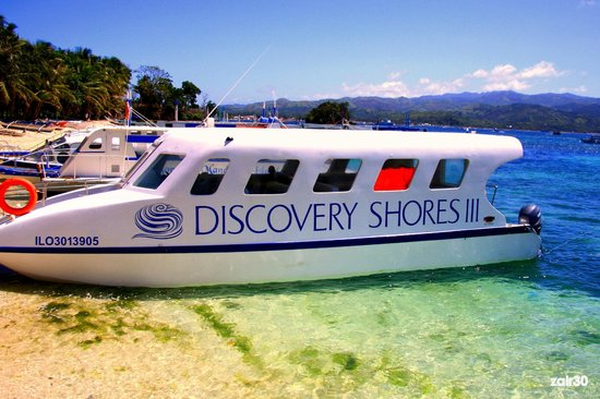Discovery Shores Boracay: Private air-conditioned ride