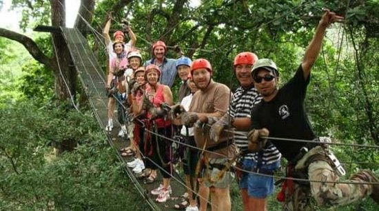 Life Time Tours of Costa Rica - Day Tours: zip lining