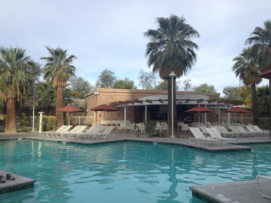 Agua Caliente Casino Resort Spa: Pool area