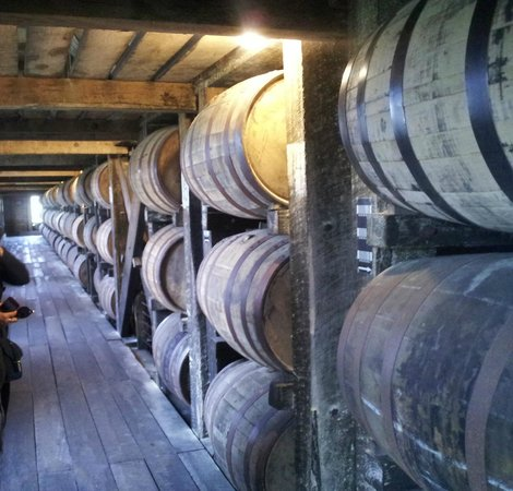 Heaven Hill Bourbon Heritage Center: the rickhouse at heaven hill