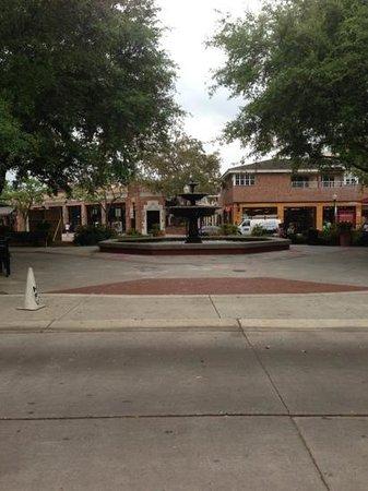 Hyde Park Village : the fountain