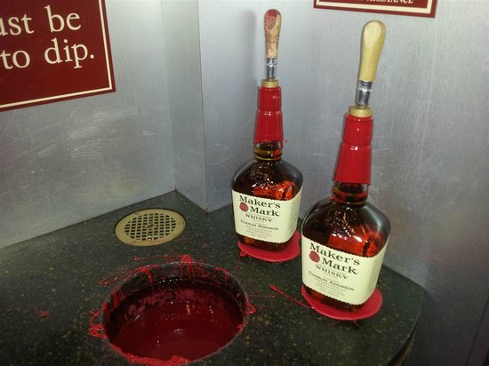 Maker's Mark: just dipped my bottles!