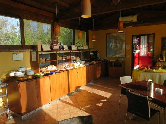 Borgo La Torre: Breakfast