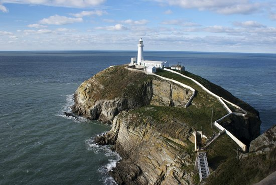 ‪جزيرة أنجيلسي, UK: Anglesey lighthouse jetty‬