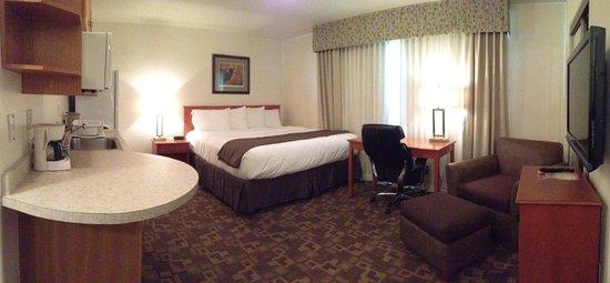 Alaska's Select Inn Hotel: Single King