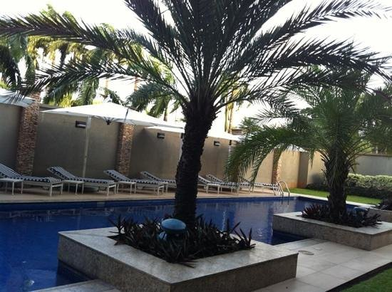 Southern Sun Ikoyi: small but clean pool