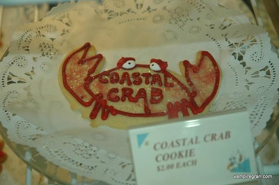 "Captain Dan's Pirate Pastry Shop: Don't be ""crabby"". eat a cookie!"