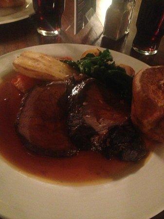 Balloo House Bistro: Sirloin of Beef
