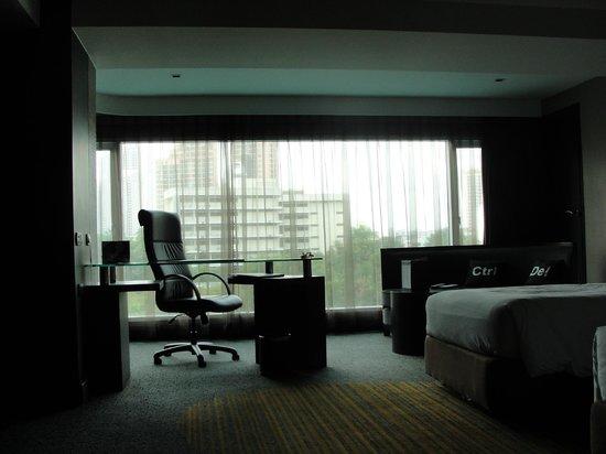 Golden Tulip Mandison Suites: desde la habitación.