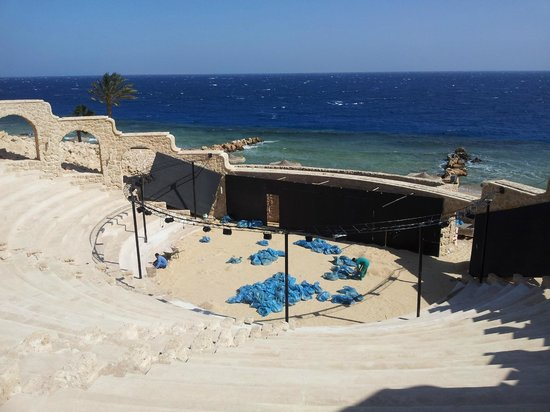 Citadel Azur Resort: Ampitheatre - nearly finished