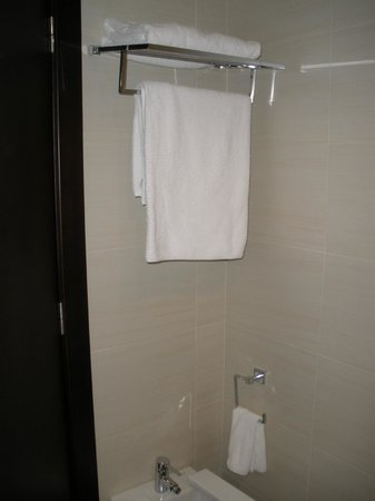 Hotel-Spa Bienestar Moaña: Baño limpio
