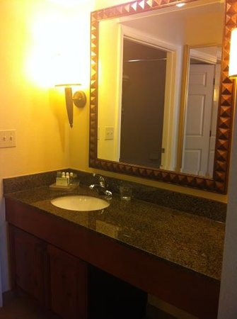 Homewood Suites by Hilton Jackson Ridgeland: bathroom sink area
