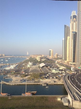 Habtoor Grand Resort, Autograph Collection: View from our room