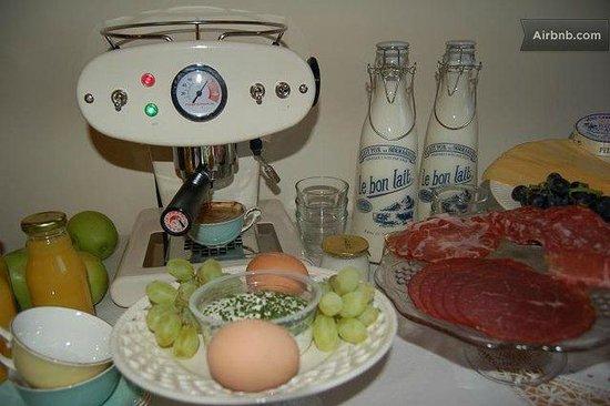 Tous les Jours Dimanche : petit déjeuner