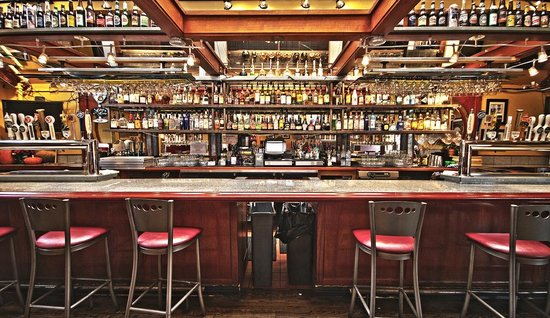 Bistro 412: One of the largest liquor selections in the state.