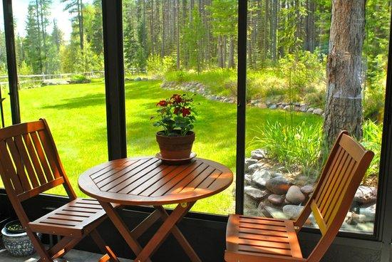 Moss Mountain Inn : Cafe' Seating