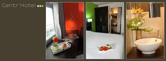 Le Centr'Hotel : Chambre
