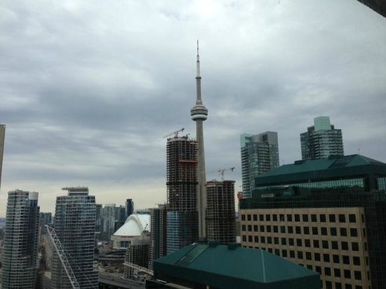 The Westin Harbour Castle: City view from the room