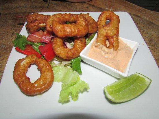 Brisas del Mar: The best calamari EVER!