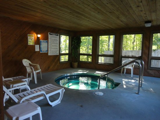 Nordic Lodge: Whirlpool