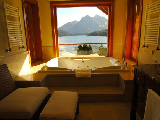 Llao Llao Hotel and Resort, Golf-Spa: OUr bathroom's view