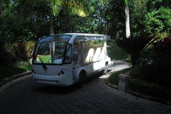 """Ocean Breeze Riviera Maya Hotel: der """"Shuttle"""" Service, einsame Klasse"""