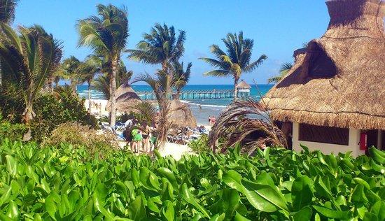 Ocean Breeze Riviera Maya Hotel: Der Strand - ideal für lange Strandwanderungen