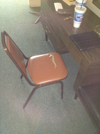 Mountain Empire Motel: Chair
