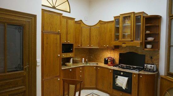 Malostranska Residence: Полностью укомплектованная кухня