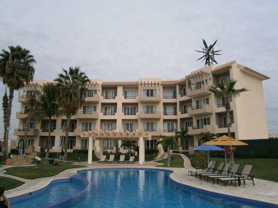 El Ameyal Hotel & Family Suites : Es pequeño, pero cómodo.