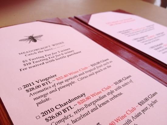 Meadowcroft Wines: Meadowcroft