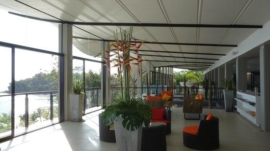 บียอน รีสอร์ท กระบี่: reception area